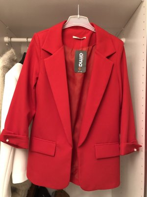 Arma Women Jersey Blazer red