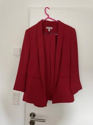 H&M Blazer de esmoquin rojo