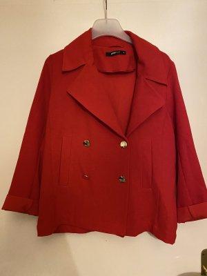 Gina Tricot Jersey Blazer rojo