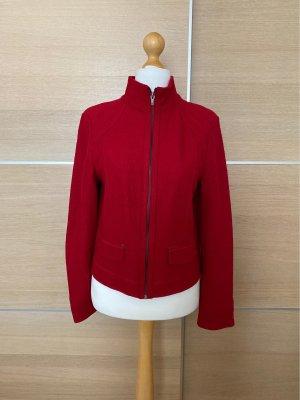 Roter Blazer mit Zipp Tom Tailor