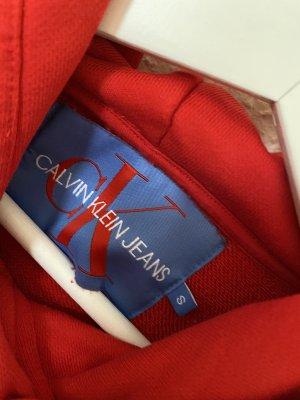 Roter Calvin Klein Hoodie
