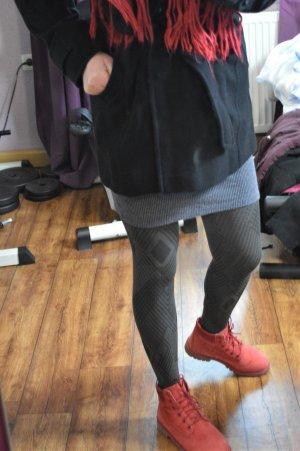 Esprit Bufanda de lana rojo