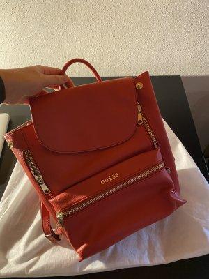 Roter Guess Rucksack