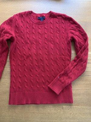 Roter Hilfiger Pullover