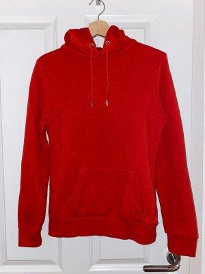 Roter hoodie