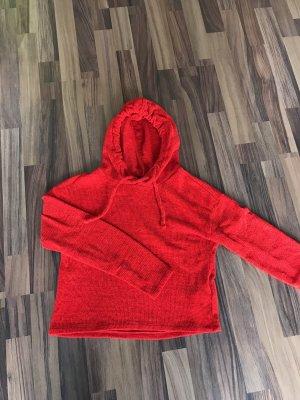 Tally Weijl Jersey con capucha rojo