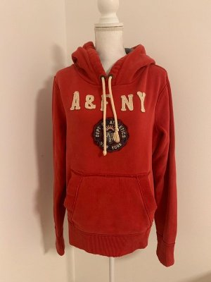 Roter Hoodie von Abercrombie & Fitch