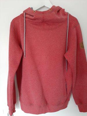 Derbe Blusa con capucha rojo claro