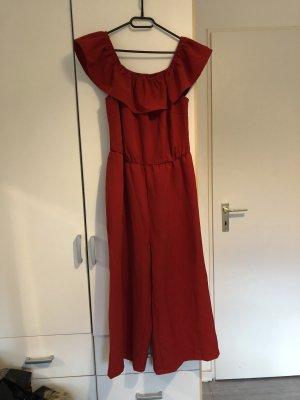Bon Prix Tailleur-pantalon rouge