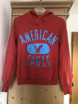 American Eagle Outfitters Capuchon sweater baksteenrood