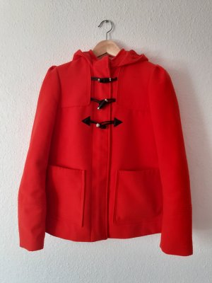 H&M Krótki płaszcz czerwony