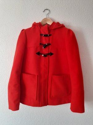 Roter Kurzmantel Jacke Größe 36 von H&M