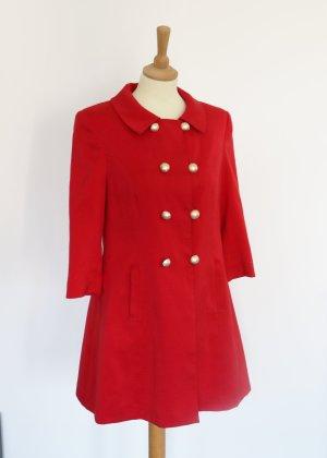 Atmosphere Short Coat multicolored