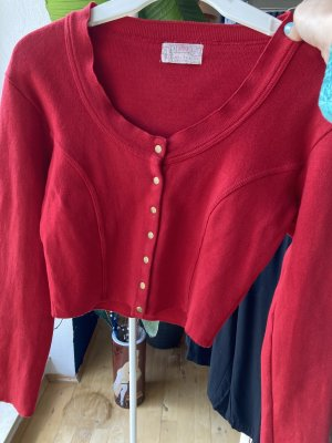 andere Marke Cardigan red