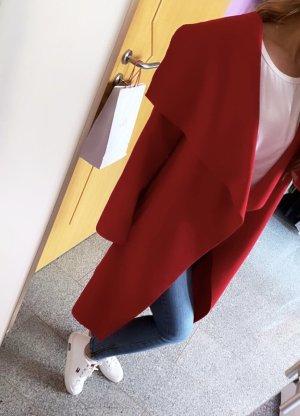 Coat Veste de pilote rouge