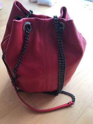 blingberlin Pouch Bag red-silver-colored