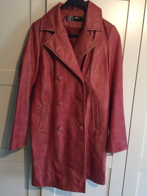 Only Leather Coat red leather