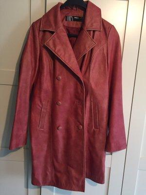 Only Leren jas rood Leer