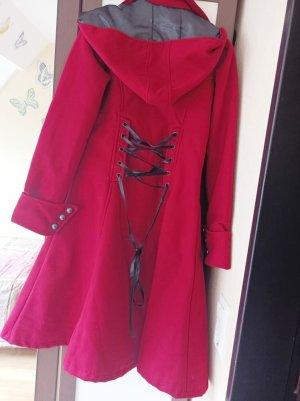 Nuclear Blast Manteau à capuche rouge brique polyester