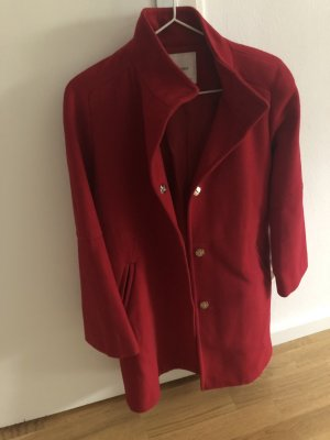 Mango Winter Coat red