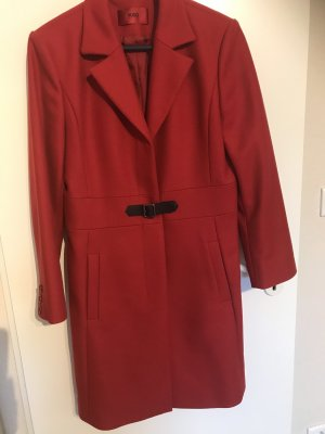 Hugo Boss Manteau en laine rouge