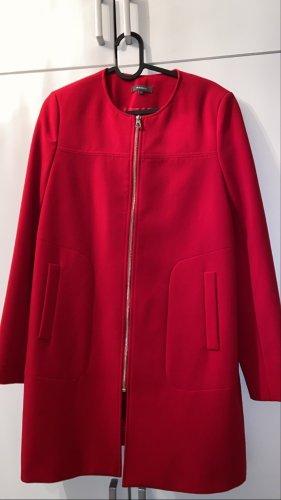 roter Mantel von Peek & Cloppenburg