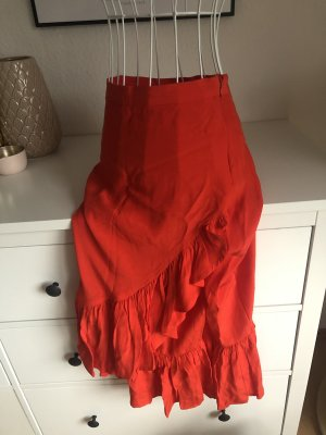 H&M Gonna a balze rosso
