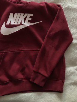 Nike Hooded Sweater brick red-pink