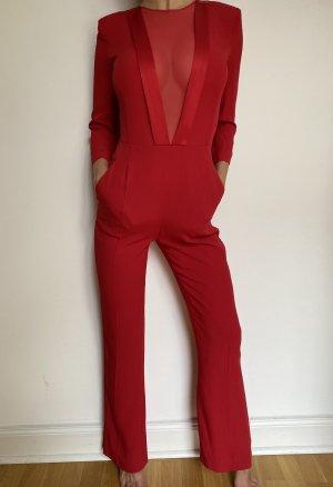 Roter Overall von Elisabetta Franchi