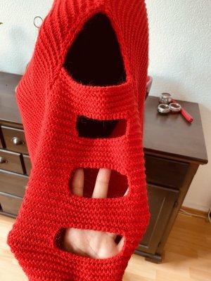 Koton Sweter oversize czerwony