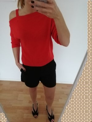 Roter Pulli Gr M