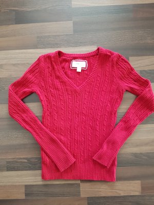 American Eagle Outfitters Pull col en V multicolore