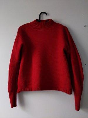 roter Pullover • Topshop • Größe 34