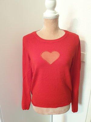 roter Pullover von H&M