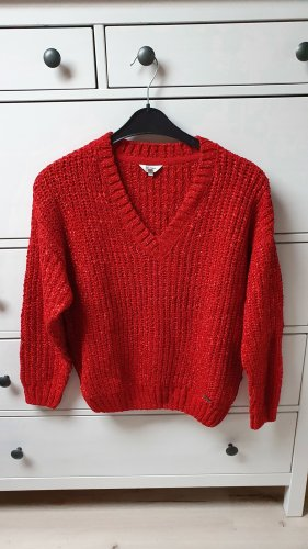 roter Pullover von Pepe Jeans