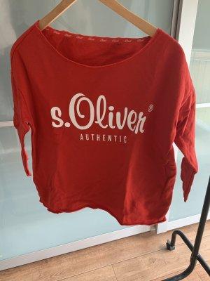 Roter Pullover von S.Oliver