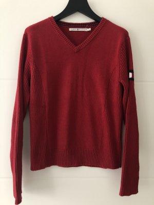 Roter Pullover von Tommy Hilfiger Gr. L