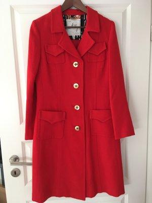 Roter Retro Mantel von MILLY Gr 8 neu