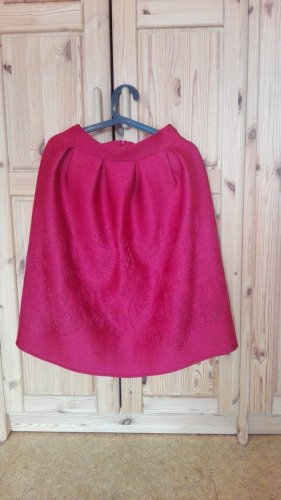 Tulip Skirt raspberry-red-brick red