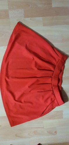 FB Sister Falda de punto rojo ladrillo