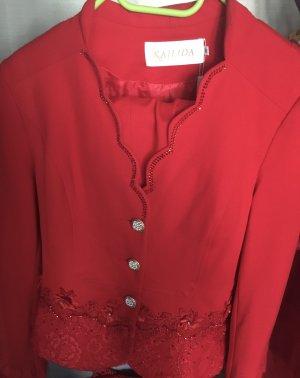 0039 Italy Chemise bavaroise rouge