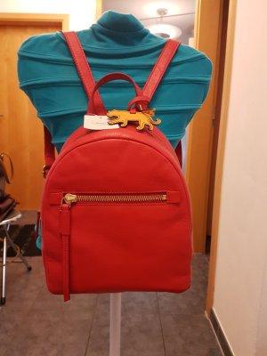 Roter Rucksack von Fossil