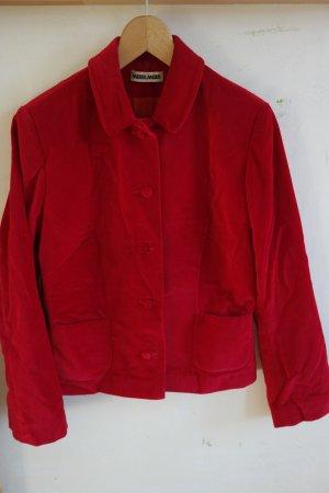 Meier.Meier Blazer in lana rosso mattone