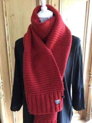 Gaastra Bufanda de lana rojo