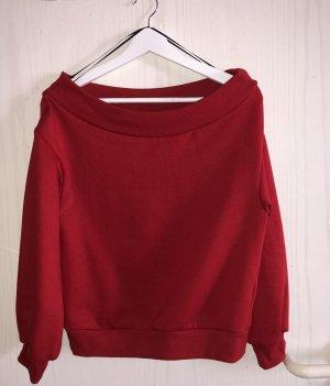 H&M Kersttrui rood