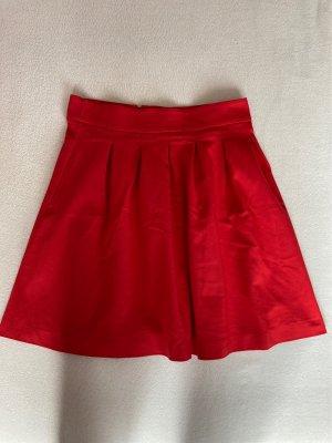 Orsay Skaterska spódnica czerwony