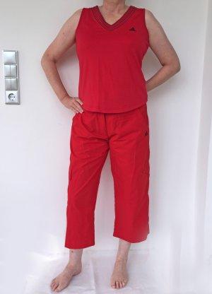 roter Sport-Dress von Adidas, Größe 44 - NEU