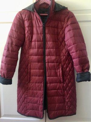 Street One Manteau matelassé rouge foncé polyamide