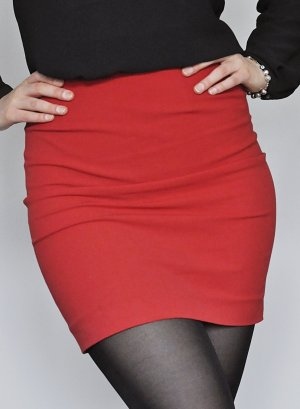 Marc Cain Stretch rok rood