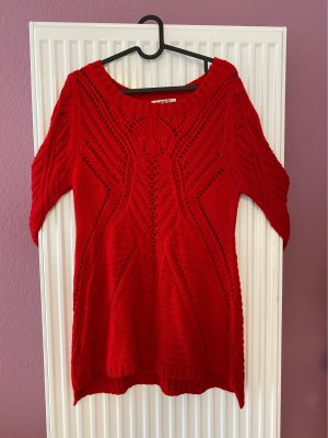 no name Knitted Sweater red